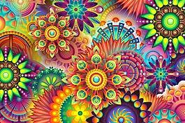 五颜六色的抽象背景,多彩,颜色