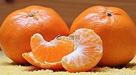 橘子,柑橘,水果