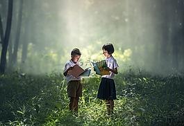 兒童,書,親愛的