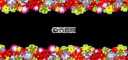 鮮花,花卉圖案,旗幟