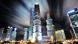 上海,浦東,夜景