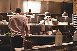餐廳,廚房,廚師