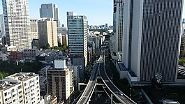 公路,東京,摩天大樓