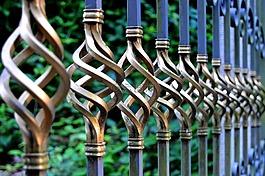 铁门,锻铁,金属门