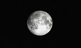 月亮,全,月光