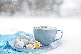 熱巧克力,愜意,冬天