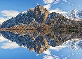 山,水,景觀
