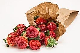 草莓,新鮮水果,甜點