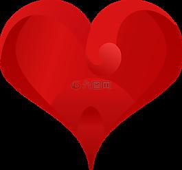 心,愛,愛的心