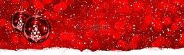 紅色,白,雪