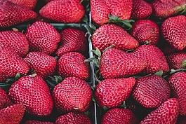 草莓,美味,水果
