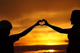 愛,家庭,心臟