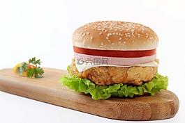 漢堡,食品,垃圾