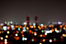 夜景,在晚上,晚上