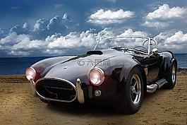 汽车,oldtimer,眼镜蛇