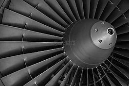 涡轮,飞机,电机