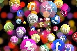圖標,app,網絡
