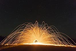 消防輪,煙花,車輪