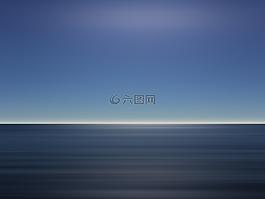 海洋,天空,蓝色