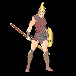 战士,斯巴达,300