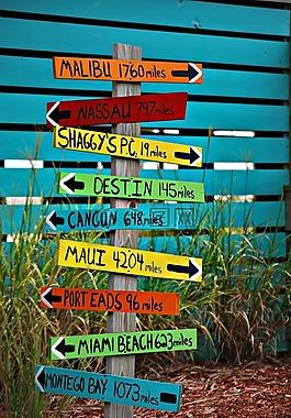 跡象,地方,旅行