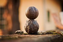 和諧,放松,石