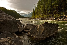 河,自然,景觀
