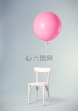 椅子,气球,庆典