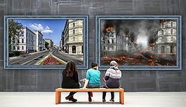 畫廊,圖像,和諧