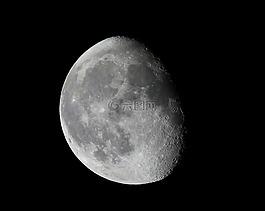 月亮,夜,天空