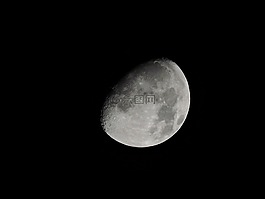 月亮,前三季度月亮,白色的月亮