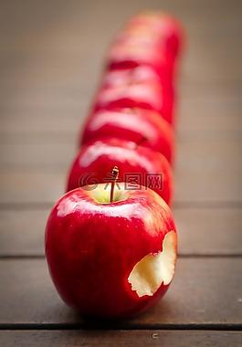 苹果,水果,红色