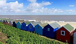 海邊的房子,木屋,海邊