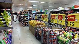 超市,购物,销售