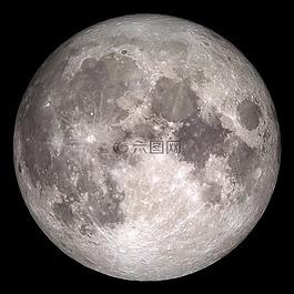 月亮,空間,地球的月亮