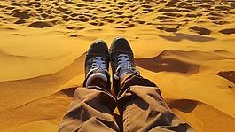 放松,和平,金色的沙灘