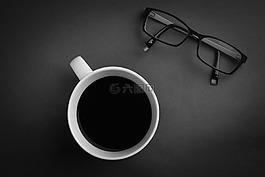咖啡,眼镜,小样