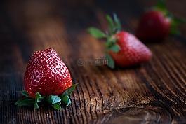 草莓,水果,软水果