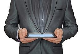 男子,商人,這款平板電腦