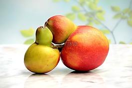 水果,蘋果,蘋果夫婦