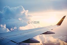 飞机,旅行,旅程