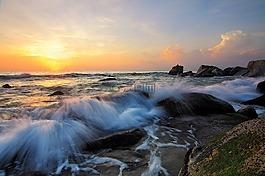 波,水,海洋