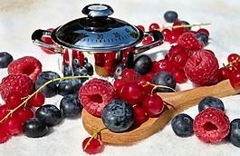 漿果,混合,山莓