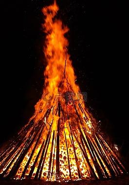 火,火焰,余燼