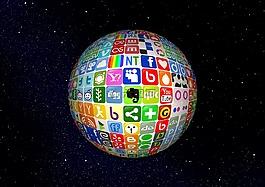 球,网络,互联网
