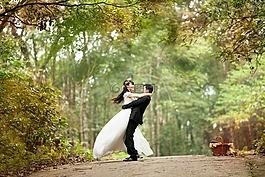 婚礼,爱,快乐