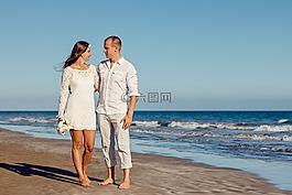 婚禮,海灘婚禮,愛情