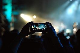 音乐会,节日,灯