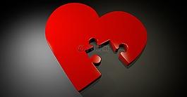 心臟,愛情,謎