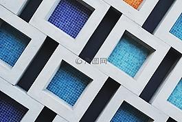圖案背景,模式,瓷磚